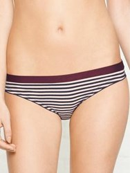 Love Stories Firecracker Striped Briefs White Navy White Navy
