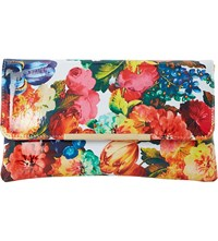 Dune Bower Patent Floral Clutch Multi Patent