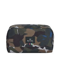 Paul Smith Ps By Beauty Cases Military Green