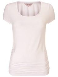 Phase Eight Gilly Gathered T Shirt White