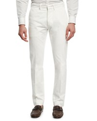 Tom Ford Classic Chino Pants White