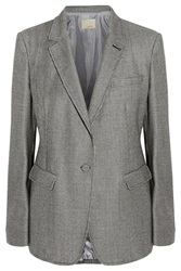 Band Of Outsiders Houndstooth Wool Blazer