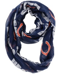 Little Earth Chicago Bears Sheer Infinity Scarf