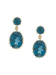 Astley Clarke Linia London Drop Earrings Gold