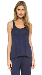 Splendid Draped Tank Navy Iris