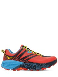 Hoka One One Speedgoat 3 Trail Running Sneakers Coral