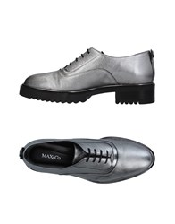 Max And Co. Lace Up Shoes Grey