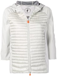 Save The Duck Padded Jacket With Hood Grey