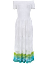 Cecilia Prado Arlinda Midi Dress White