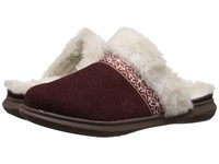 Spenco Nordic Slide Bordo Women's Slide Shoes Burgundy