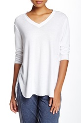 Central Park West The Azam V Neck Tee White