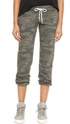 Monrow Camo Sweatpants Hunter