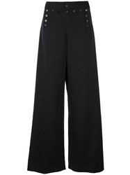 Ralph Lauren Collection Buttoned Wide Leg Trousers 60
