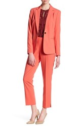 Chaus Courtney Side Zip Pant Pink