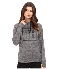 Burton Quartz Pullover True Black Heather Women's Sweatshirt