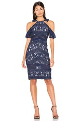 Three Floor Inky Dress Navy