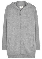 Ugg Savannah Grey Hooded Cashmere Sweatshirt