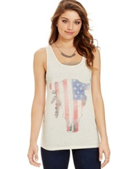 Freeze 24 7 Juniors' Studded Cow Skull Graphic Tank