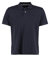 Tom Tailor Regular Polo Shirt Knitted Navy Dark Blue