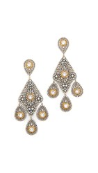 Miguel Ases Zoe Earrings Gold Multi