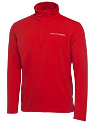 Galvin Green Dwayne Tour Insula Jumper Red