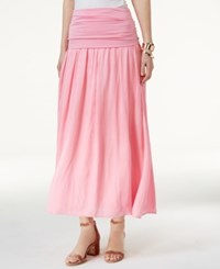 Inc International Concepts Petite Convertible Maxi Skirt Only At Macy's Ballet Pink