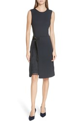 Boss Etuli A Line Dress Dark Navy