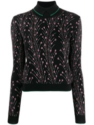 Marco De Vincenzo Sparkle Knit Sweatshirt Black