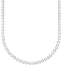 Belle De Mer Pearl Necklace 16' 14K Gold A Cultured Freshwater Pearl Strand 7 1 2 8Mm