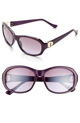 Women's Ivanka Trump 52Mm Sunglasses Purple