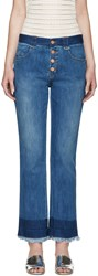 See By Chloe Indigo Dip Dyed Jeans
