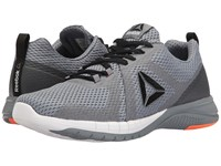 Reebok Print Run 2.0 Asteroid Dust Wild Orange White Black Pewter Men's Running Shoes Gray