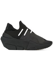 Y 3 Elasticated Panel Sneakers Black