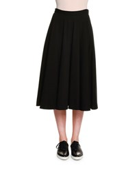 Tomas Maier Atomic Jersey Circle Skirt Black