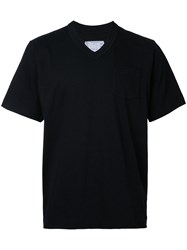 Sacai Boxy T Shirt Men Cotton I Black