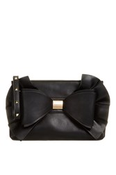 Topshop Oversized Bow Clutch By Koko Couture Black