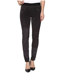 Blank Nyc Pull On Suede Grey Skinny In Highs Lows Highs Lows Women's Jeans Black