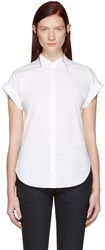 Rag And Bone White Ara Tie Back Shirt