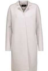 Line Olivia Boiled Wool Blend Coat Lilac