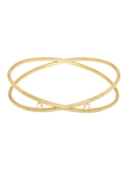 Susan Foster Diamond And Yellow Gold Bracelet