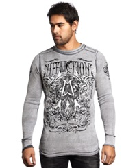 Affliction Reversible Cast Into Thermal White Black