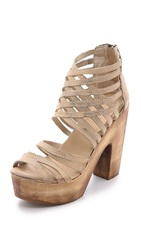 Freebird Costa Strappy Sandals Taupe