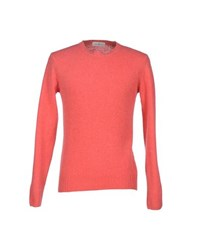 Della Ciana Knitwear Jumpers Men Coral