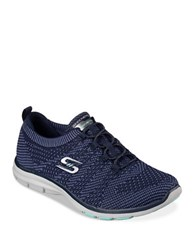Skechers Glaxies Slip On Sneakers Navy Blue