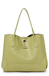 Botkier Waverly Leather Tote Green Sage