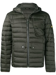 Barbour Ouston Quilted Jacket Green