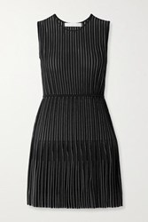 Dion Lee Knitted Mini Dress Black