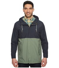 Pendleton Surf Anorak Faded Navy Agave Clothing Green
