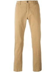 Jacob Cohen Straight Leg Chinos Nude Neutrals