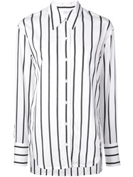 A.L.C. Striped Shirt White